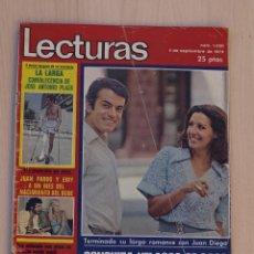 Coleccionismo de Revistas: REVISTA LECTURAS SEPTIEMBRE 1975.PORTADA CONCHA VELASCO.. Lote 41777590