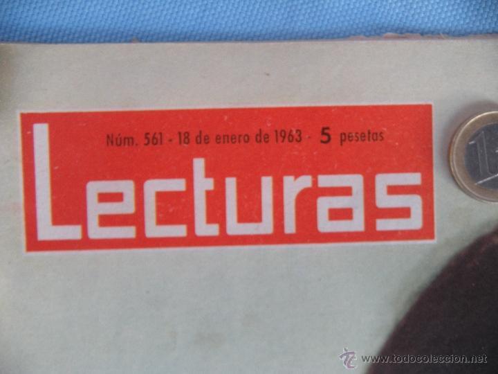 Coleccionismo de Revistas: REVISTA LECTURAS AÑO 1963-64. LOTE DE 5 REVISTAS - Foto 2 - 42146168