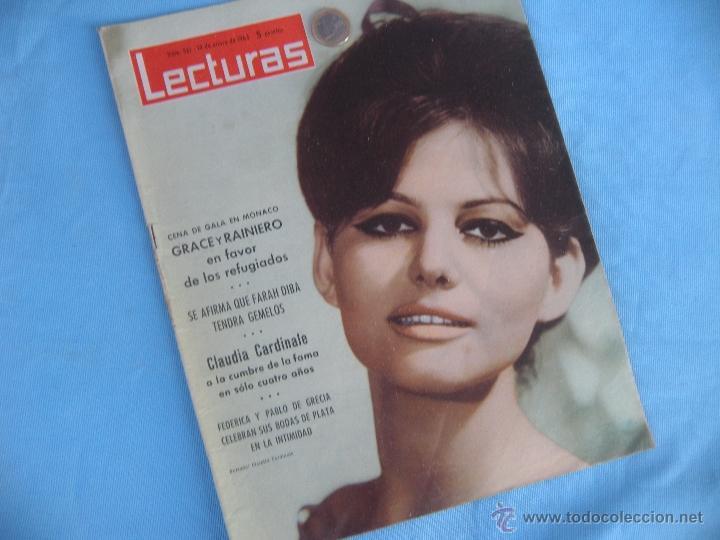 Coleccionismo de Revistas: REVISTA LECTURAS AÑO 1963-64. LOTE DE 5 REVISTAS - Foto 3 - 42146168
