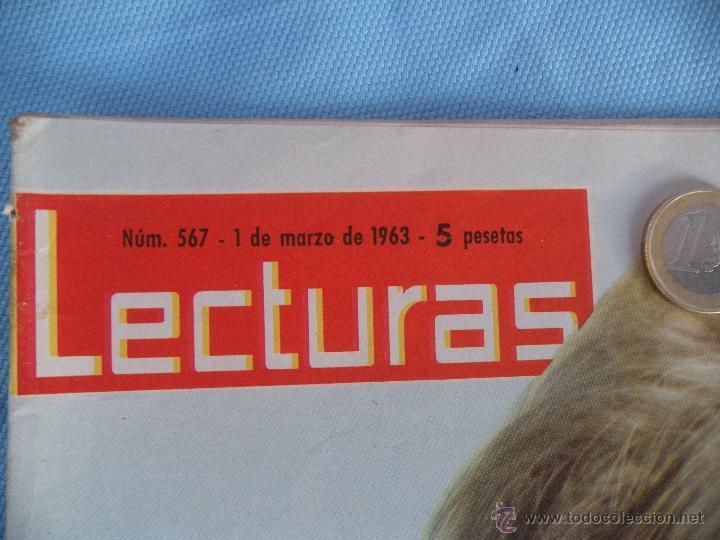 Coleccionismo de Revistas: REVISTA LECTURAS AÑO 1963-64. LOTE DE 5 REVISTAS - Foto 4 - 42146168