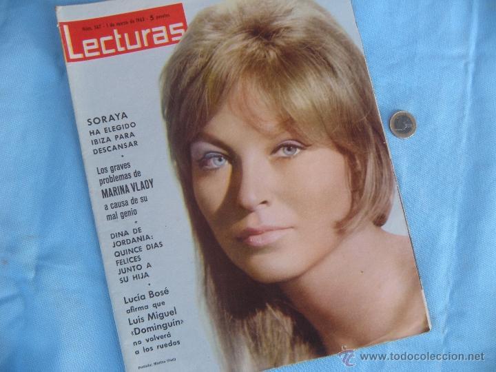 Coleccionismo de Revistas: REVISTA LECTURAS AÑO 1963-64. LOTE DE 5 REVISTAS - Foto 5 - 42146168