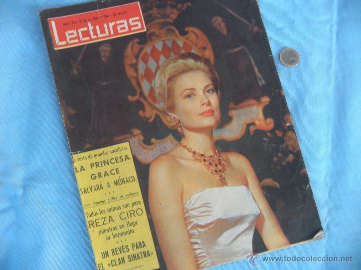 Coleccionismo de Revistas: REVISTA LECTURAS AÑO 1963-64. LOTE DE 5 REVISTAS - Foto 7 - 42146168