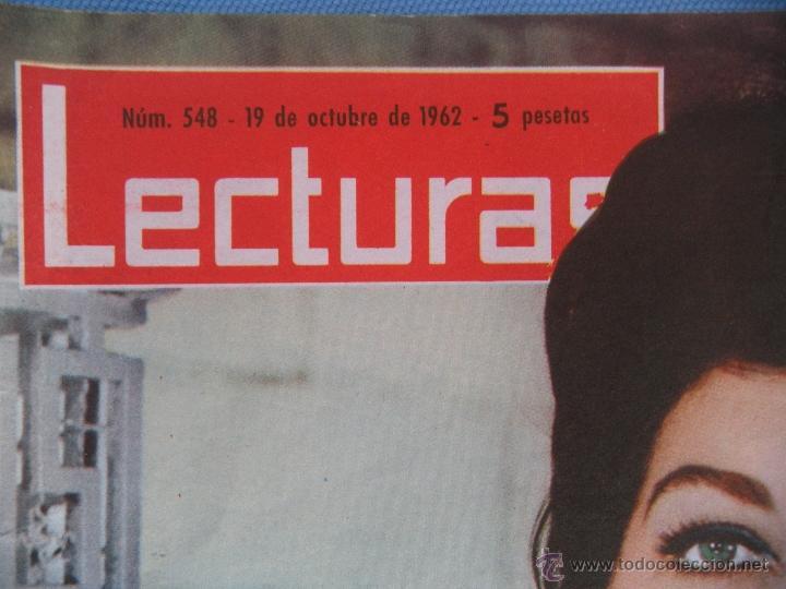 Coleccionismo de Revistas: REVISTA LECTURAS AÑO 1963-64. LOTE DE 5 REVISTAS - Foto 8 - 42146168