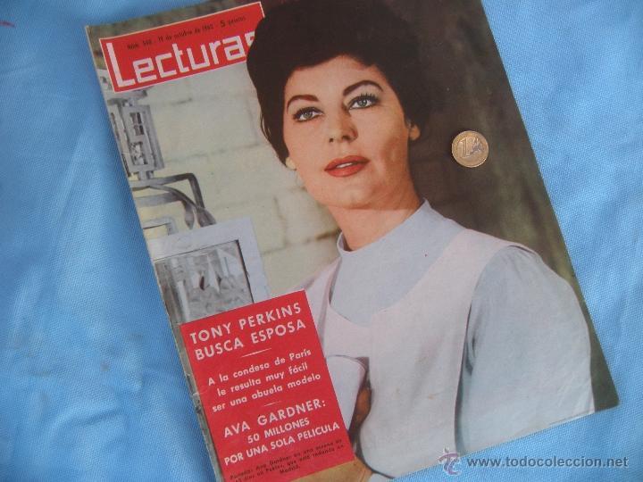 Coleccionismo de Revistas: REVISTA LECTURAS AÑO 1963-64. LOTE DE 5 REVISTAS - Foto 9 - 42146168