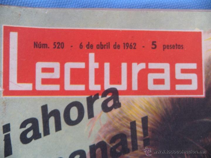 Coleccionismo de Revistas: REVISTA LECTURAS AÑO 1963-64. LOTE DE 5 REVISTAS - Foto 10 - 42146168