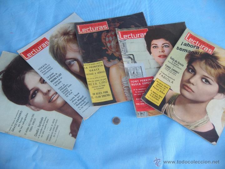 Coleccionismo de Revistas: REVISTA LECTURAS AÑO 1963-64. LOTE DE 5 REVISTAS - Foto 12 - 42146168