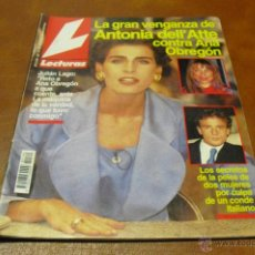 Coleccionismo de Revistas: REV. 10/93 LECTURAS.-ANTONIA DELL'ATTE GRAN RPTAJE.DIANA,FERGIE-J. OTERO,LOS REYES,ROCIITO MODELO,. Lote 42295908