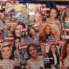 Coleccionismo de Revistas: LOTE 17 REVISTAS LECTURAS AÑO 2013. Lote 42429894