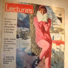 Coleccionismo de Revistas: REVISTA LECTURAS, MARLON BRANDO, PRINCESA SORAYA,Nº 720 ,AÑO 1966. Lote 17363598