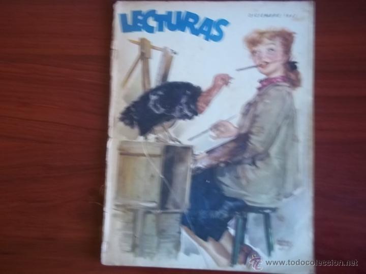 LECTURAS - AÑO XXVII - NUM. 278 - DICIEMBRE DE 1947 (Coleccionismo - Revistas y Periódicos Modernos (a partir de 1.940) - Revista Lecturas)