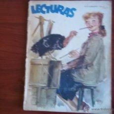 Coleccionismo de Revistas: LECTURAS - AÑO XXVII - NUM. 278 - DICIEMBRE DE 1947. Lote 42703298