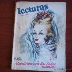 Coleccionismo de Revistas: LECTURAS - AÑO XXVII - NUM. 277 - NOVIEMBRE DE 1947. Lote 42703400