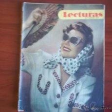 Coleccionismo de Revistas: LECTURAS - AÑO XXVII - NUM. 275 - SEPTIEMBRE DE 1947. Lote 42703511