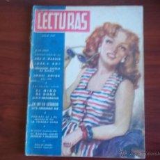 Coleccionismo de Revistas: LECTURAS - AÑO XXVII - NUM. 273 - JULIO DE 1947. Lote 42703621