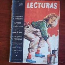 Magazine Collection - REVISTA LECTURAS - AÑO XXVII - Nº 267 - ENERO DE 1947 - 42703902