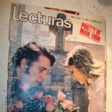 Coleccionismo de Revistas: REVISTA LECTURAS, LUNA MIEL JAIME MOREY Y MARIA, Nº 1.044,AÑO 1972.. Lote 17326033