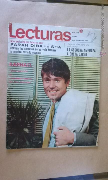 REVISTA LECTURAS 1967 - (Coleccionismo - Revistas y Periódicos Modernos (a partir de 1.940) - Revista Lecturas)
