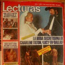 Coleccionismo de Revistas: LECTURAS Nº1559-5/3/82-PALOMO LINARES-JULIO IGLESIAS-LA REINA SOFIA-LADY DI-LUIS MIGUEL DOMINGUIN. Lote 43675483