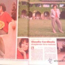 Coleccionismo de Revistas: RECORTES CLAUDIA CARDINALE. Lote 44035136
