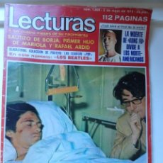 Coleccionismo de Revistas: REVISTA LECTURAS 2/1975 (KUNG-FU,TORERO JOSE ANTONIO PLAZA,..) POSTER THE BEATLES. Lote 45334523