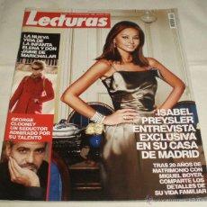 Coleccionismo de Revistas: REVISTA LECTURAS NOVIEMBRE 2007. Lote 45677385