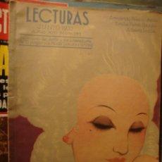 Coleccionismo de Revistas: LA50 ANTIGUA REVISTA LECTURAS 1933 DICIEMBRE Nº 145. Lote 46024149