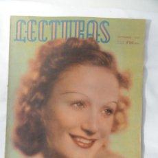 Coleccionismo de Revistas: REVISTA LECTURAS. SEPTIEMBRE 1942.. Lote 46191983