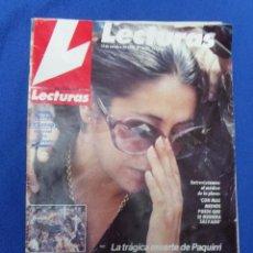 Coleccionismo de Revistas: ISABEL PANTOJA EN EL ENTIERRO DE PAQUIRRI. Lote 46207426