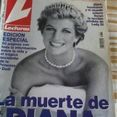 Coleccionismo de Revistas: REVISTA LECTURA. LA MUERTE DE DIANA. EDIC. ESPECIAL 50 PAG CON TODA LA INFORMACIÓN.... Lote 46717418