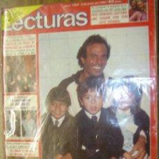 Coleccionismo de Revistas: REVISTA LECTURAS AÑO 1980 Nº1468 JULIO IGLESIAS,MARIA JIMENEZ,PEPE DOMINGO CASTAÑO,ANA TORRENT,. Lote 136495880