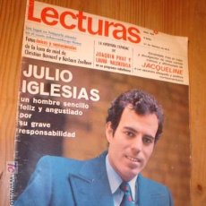 Coleccionismo de Revistas: REVISTA - LECTURAS Nº 932 27 FEBRERO 1970, PORTADA JULIO IGLESIAS.. Lote 4542095