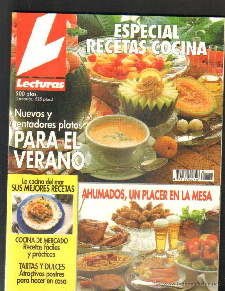 Lecturas Revista Recetas De Cocina   Revista Lecturas Especial Recetas Cocina Nº15 Comprar Revista