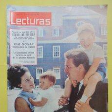 Coleccionismo de Revistas: LECTURAS Nº 711. DICIEMBRE 1965. MURIÓ ISABEL DE BÉLGICA. KIM NOVAK. Lote 48113510