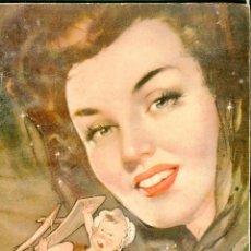 Coleccionismo de Revistas: PORTADA RIERA ROJAS-EL CENTAURO MARIO CABRE E ISABELITA POMES-DIANA DURBIN PUBLICIDAD ENERO 1946. Lote 48226643