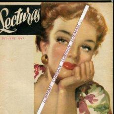 Coleccionismo de Revistas: PORT. RIERA ROJAS-MARTHA VICKERS- MEDIANOCHE DE UNA ESTRELLAELIZABETH TAYLOR-CINE NOVEL OCTUBRE 1947. Lote 48244798