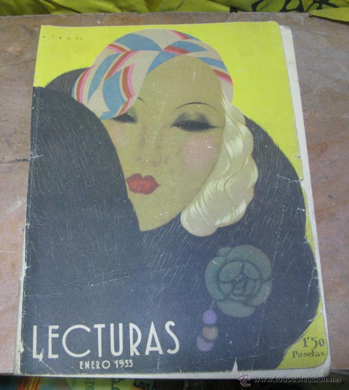 REVISTA LECTURAS ENERO 1933 (Coleccionismo - Revistas y Periódicos Modernos (a partir de 1.940) - Revista Lecturas)