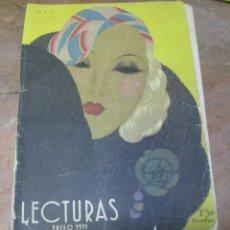 Coleccionismo de Revistas: REVISTA LECTURAS ENERO 1933. Lote 48618637