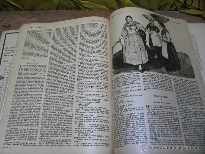 Coleccionismo de Revistas: REVISTA LECTURAS ENERO 1933 - Foto 4 - 48618637
