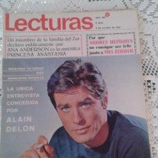 Coleccionismo de Revistas: REVISTA LECTURAS Nº 807 6 DE OCTUBRE 1967. Lote 48654751