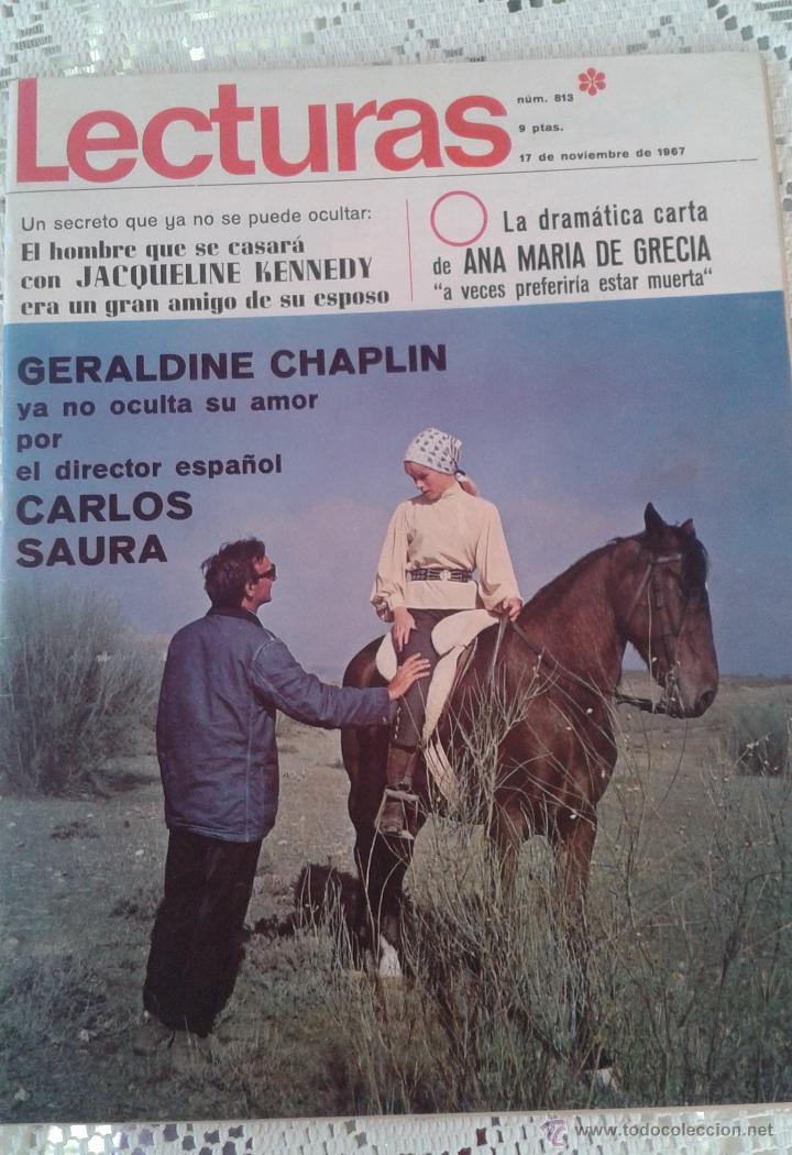 REVISTA LECTURAS Nº 813 17 DE NOVIEMBRE 1967 (Coleccionismo - Revistas y Periódicos Modernos (a partir de 1.940) - Revista Lecturas)