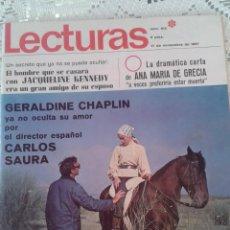 Coleccionismo de Revistas: REVISTA LECTURAS Nº 813 17 DE NOVIEMBRE 1967. Lote 48654822