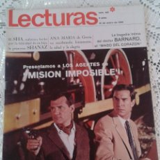 Coleccionismo de Revistas: REVISTA LECTURAS Nº 821 12 DE ENERO DE 1968. Lote 48655036
