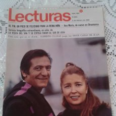 Coleccionismo de Revistas: REVISTA LECTURAS Nº 824 2 DE FEBRERO DE 1968. Lote 48655175