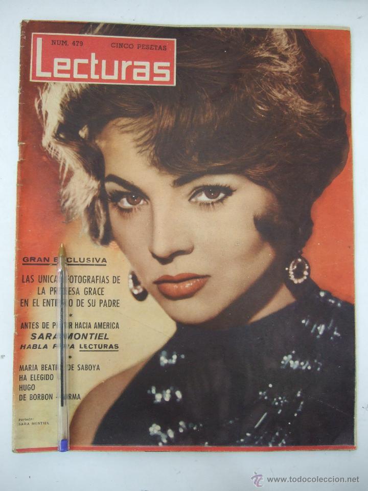 REVISTA LECTURAS - 1960 - SARA MONTIEL - BEATRIZ DE SABOYA - MARLENE DIETRICH - FARAH DIBAH - Y MAS (Coleccionismo - Revistas y Periódicos Modernos (a partir de 1.940) - Revista Lecturas)