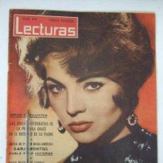 Coleccionismo de Revistas: REVISTA LECTURAS - 1960 - SARA MONTIEL - BEATRIZ DE SABOYA - MARLENE DIETRICH - FARAH DIBAH - Y MAS. Lote 48661712