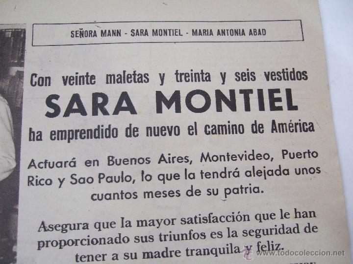Coleccionismo de Revistas: REVISTA LECTURAS - 1960 - SARA MONTIEL - BEATRIZ DE SABOYA - MARLENE DIETRICH - FARAH DIBAH - Y MAS - Foto 3 - 48661712