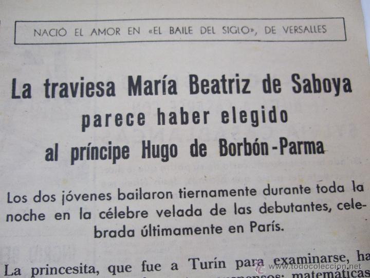 Coleccionismo de Revistas: REVISTA LECTURAS - 1960 - SARA MONTIEL - BEATRIZ DE SABOYA - MARLENE DIETRICH - FARAH DIBAH - Y MAS - Foto 5 - 48661712