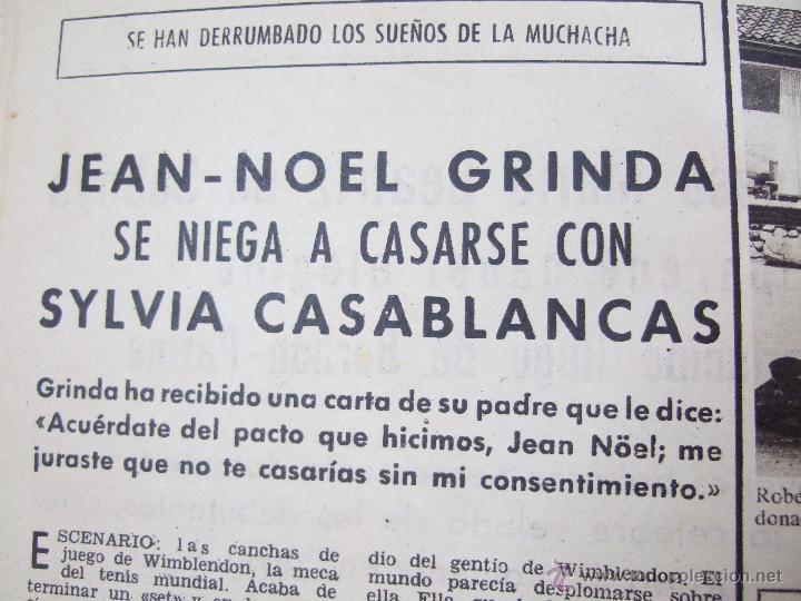 Coleccionismo de Revistas: REVISTA LECTURAS - 1960 - SARA MONTIEL - BEATRIZ DE SABOYA - MARLENE DIETRICH - FARAH DIBAH - Y MAS - Foto 6 - 48661712