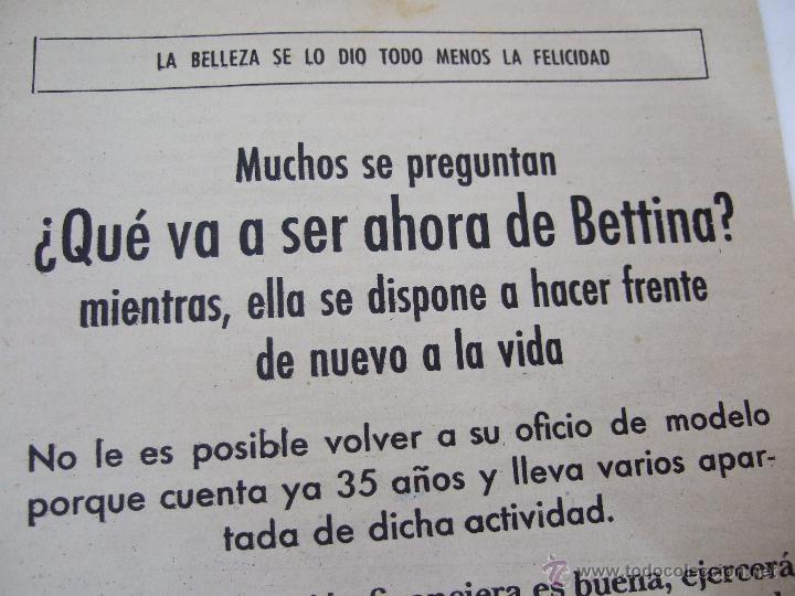Coleccionismo de Revistas: REVISTA LECTURAS - 1960 - SARA MONTIEL - BEATRIZ DE SABOYA - MARLENE DIETRICH - FARAH DIBAH - Y MAS - Foto 8 - 48661712