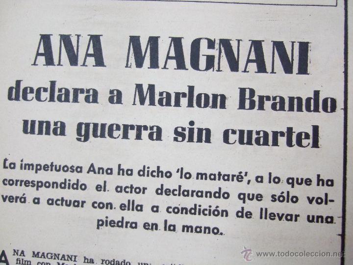 Coleccionismo de Revistas: REVISTA LECTURAS - 1960 - SARA MONTIEL - BEATRIZ DE SABOYA - MARLENE DIETRICH - FARAH DIBAH - Y MAS - Foto 10 - 48661712